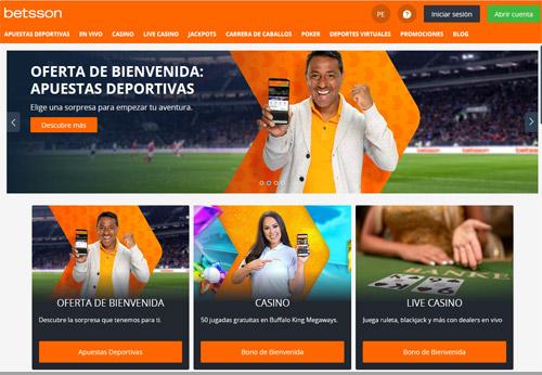 Casas de apuestas en Perú: Betsson